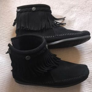 Suede Minnetonka Ankle Boots